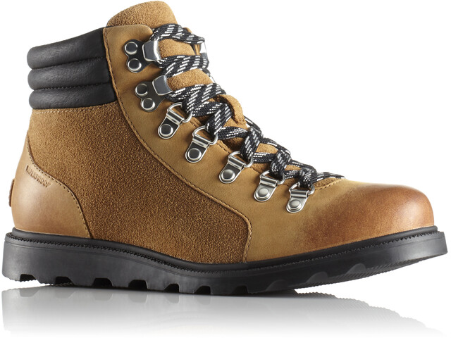 Sorel Ainsley Conquest Shoes Dam camel brown/black